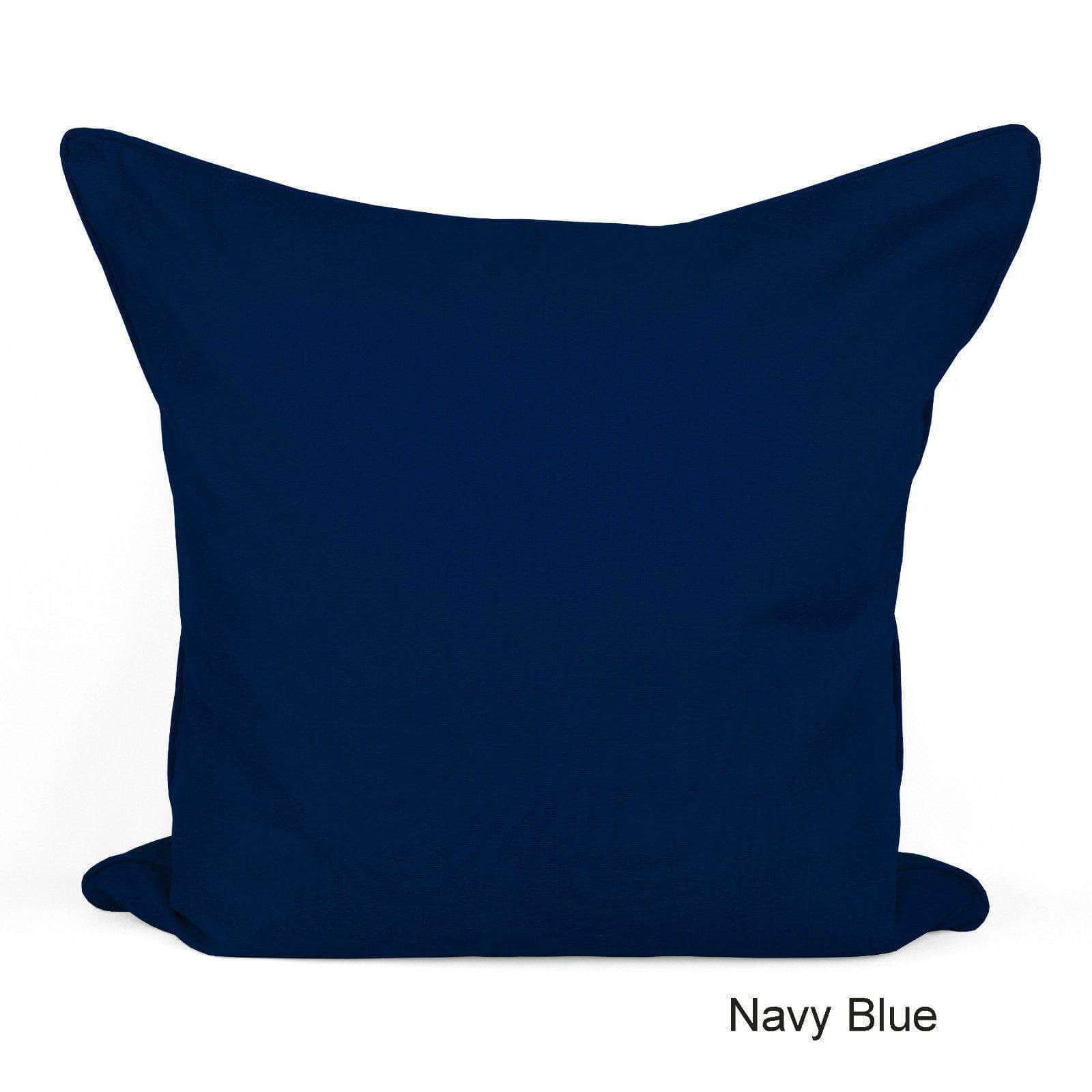 Cotton Plain Dyed Cushion Cover - Arlinens
