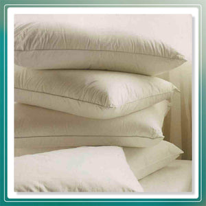 Pack of 4 Luxury Duck Feather and Down Pillow Deep Sleep Extra Filling Pillows - Arlinens
