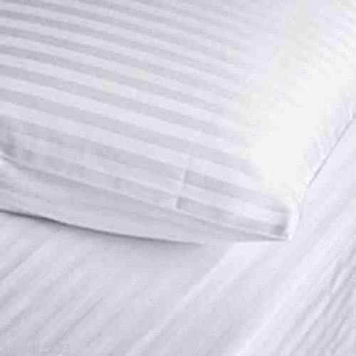 Satin Stripe Housewife Pair of PillowCases - Arlinens