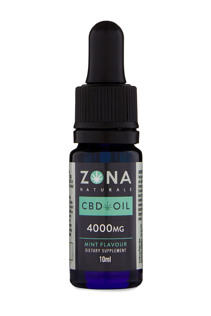 Zona Naturals CBD Oil - 4000mg tincture - Hemp World Order