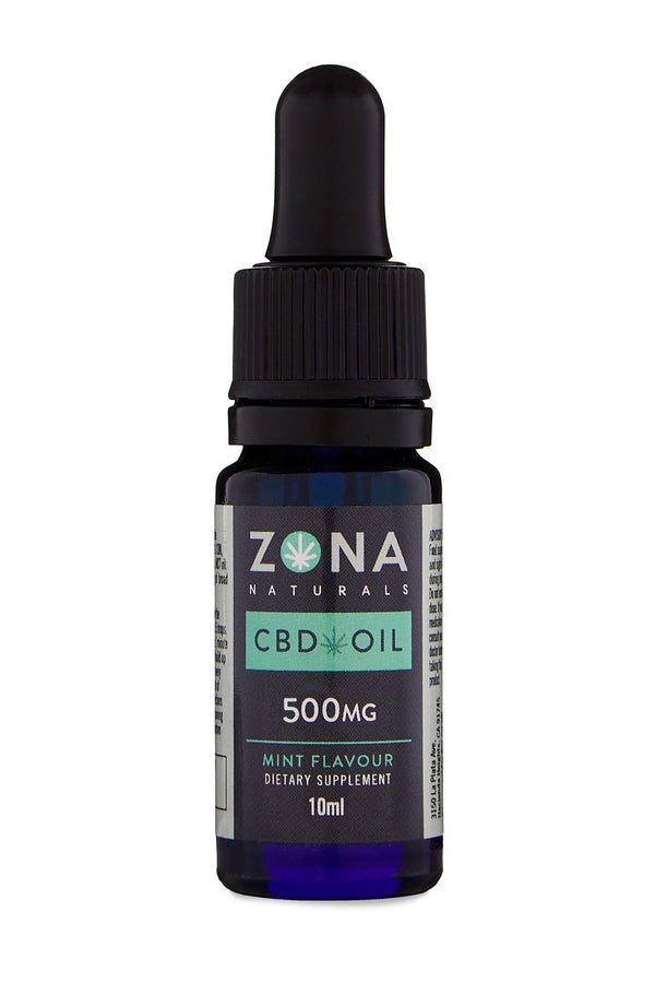 Zona Naturals CBD Oil - 500mg tincture - Hemp World Order