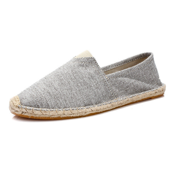 Hemp Slip-On Espadrilles - Hemp World Order