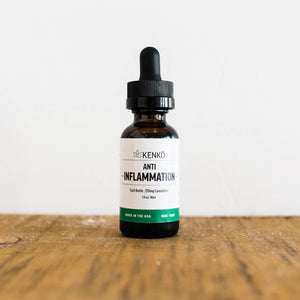KENKŌ Anti-Inflammation Tincture 250mg/500mg CBD