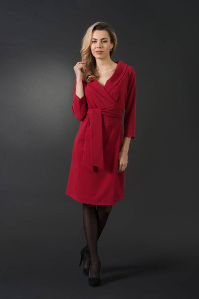 Sofia V-neckline Elegant Dress