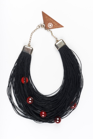 Cherry Extravagant Maxi necklace