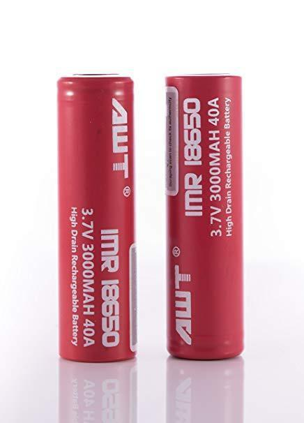 AWT High Drain 18650 Battery Pack Of 2 - HaveAPuff