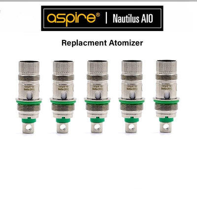 Aspire Nautilus AIO BVC Replacement Atomizer - Pack Of 5