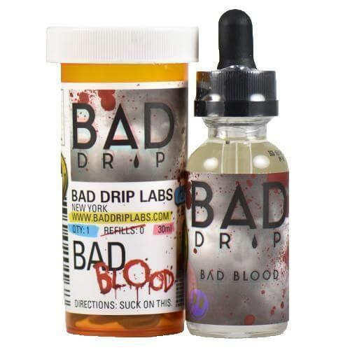 Bad Drip - Bad Blood E-Juice - HaveAPuff