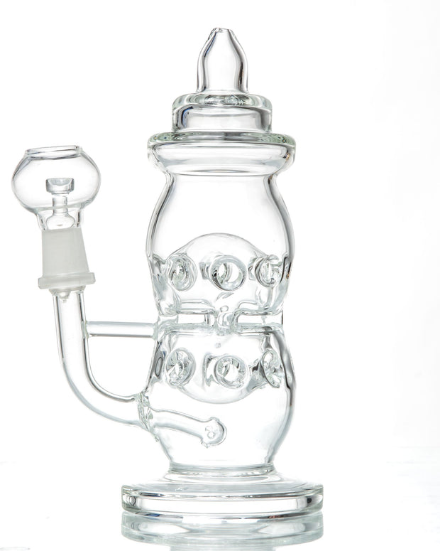 Find Clear Baby Bottle Dab Rig by BoroDirect at www.haveapuff.com