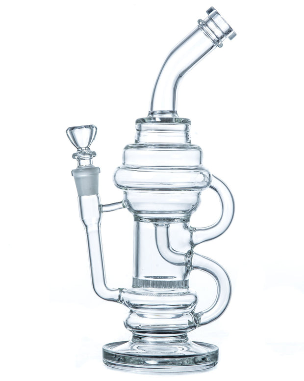 Incycler Bong w/ Honeycomb Perc - HaveAPuff