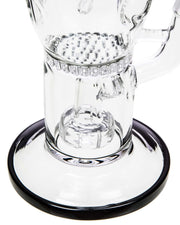 Showerhead to Honeycomb Perc Faberge Egg - HaveAPuff