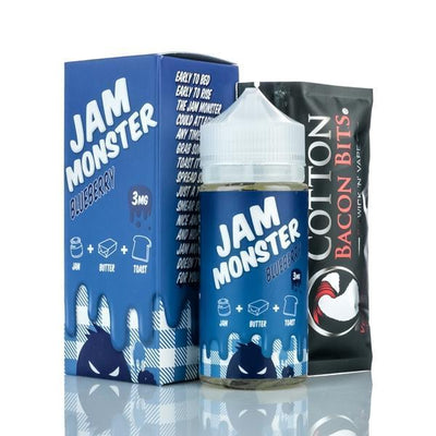 Find Jam Monster- Blueberry E-Juice by Jam Monster at www.haveapuff.com