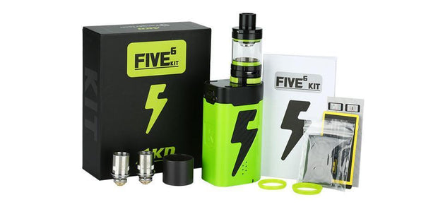 Kangertech Five 6 AKD 222W Starter Kit - HaveAPuff