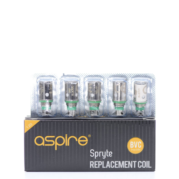 Aspire Spryte BVC Replacement Coils - Pack Of 5