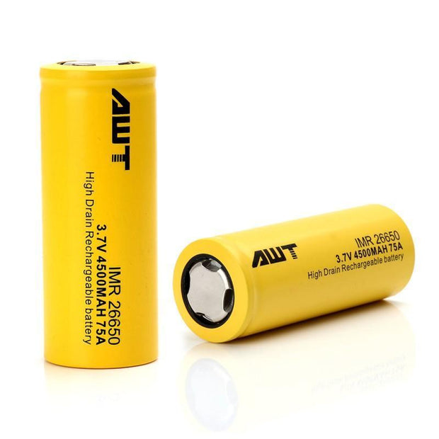 AWT IMR 26650 Battery Pack of 2 - HaveAPuff
