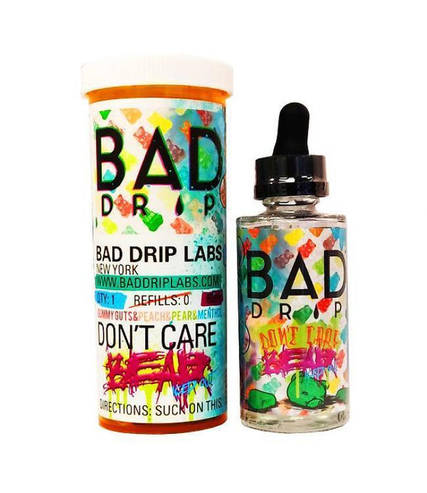 Bad Drip - Don't Care Bear Iced Out E-Juice - HaveAPuff