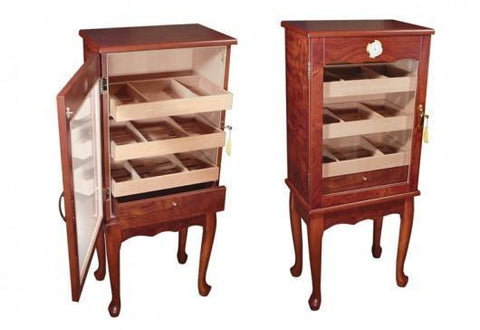 The Belmont Humidor (End Table) - HaveAPuff