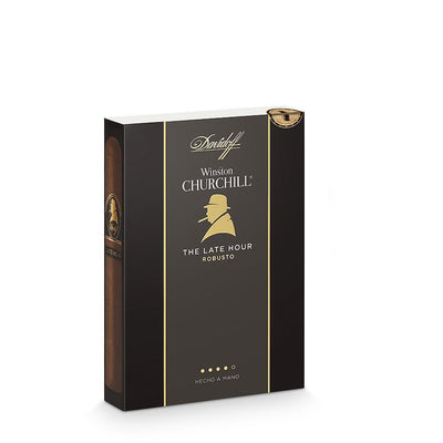 Davidoff Winston Churchill The Late Hour Robusto - HaveAPuff