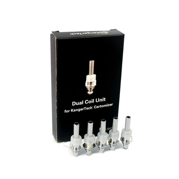 Find KangerTech SSOCC Replacement Coil Unit 5 Pack by Kanger at www.haveapuff.com
