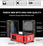 Smoant Rabox Mini 120W Water Resistant Smart Unregulated Box Mod - HaveAPuff