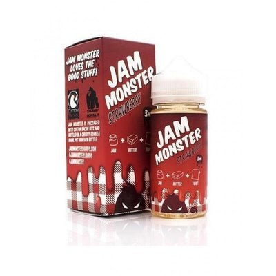Find Jam Monster- Strawberry E-Juice by Jam Monster at www.haveapuff.com