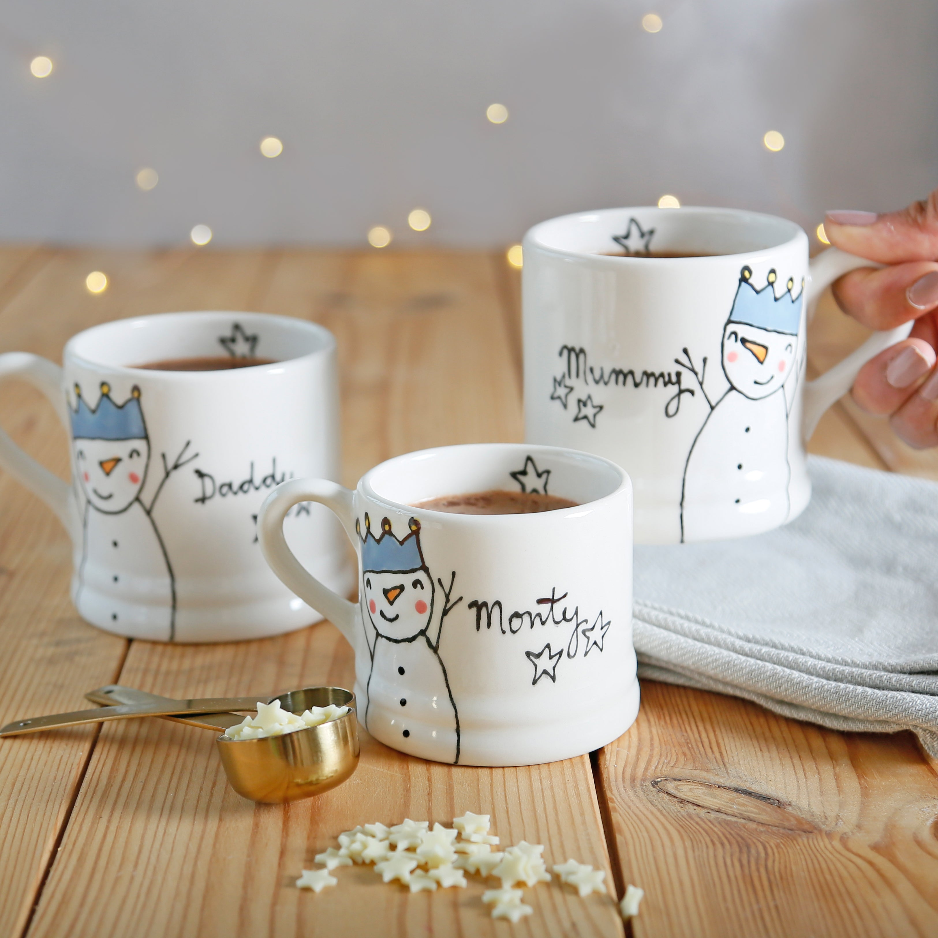 Personalised Christmas mugs Size(L)