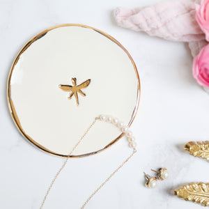 Dragonfly Jewellery Dish
