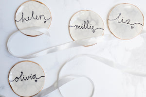Marble Style Bridesmaid Favour Jewellery Dishes