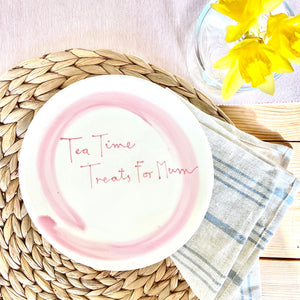 Personalised favourite foods plate