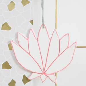 Simple Lotus Flower hanging decoration