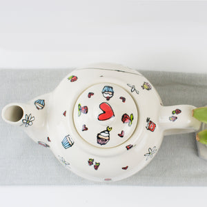 Afternoon Tea Style Personalised Teapot