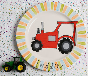 Personalised Tractor Name Plate