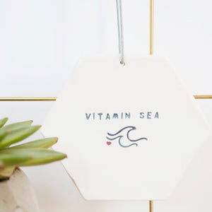 Vitamin Sea Hexagon hanging decoration