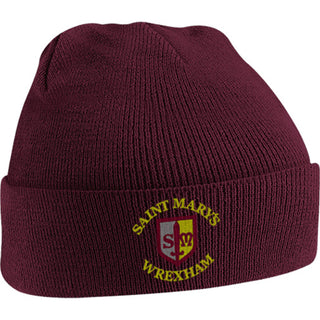 St. Mary's Wrexham Knitted Hat