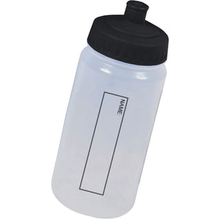 Black Ecopure Biodegradable Water Bottle