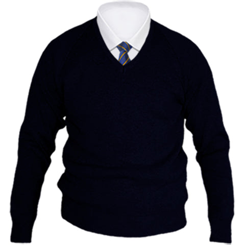 Rhosnesni Boys V-Neck Knitwear