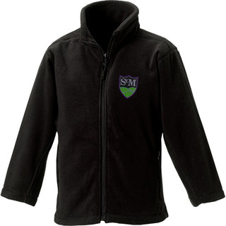 St. Martin's Black Fleece Jacket