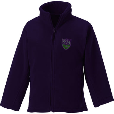 St. Martin's Purple Fleece Jacket