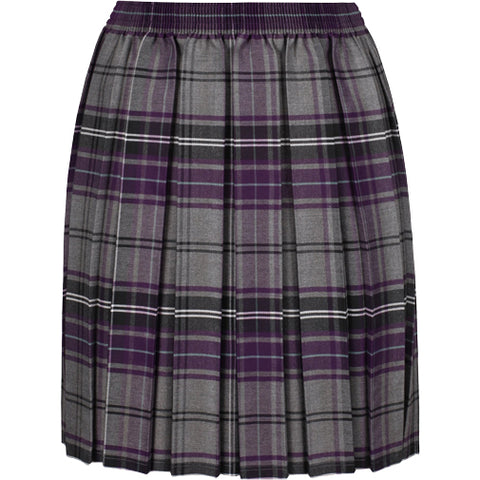 St. Martin's Box Pleat Kilt Skirt