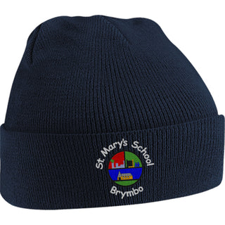 St. Mary's Brymbo Knitted Hat