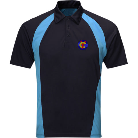 Ysgol Clywedog High School PE Polo supplied by Ourschoolwear Wrexham