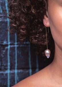 Long Baroque Pearl Drops