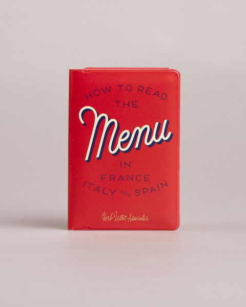 How To Read The Menu In France, Italy And Spain