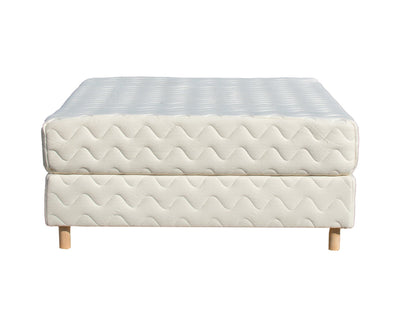 The Unison Organic Latex Mattress with Foundation