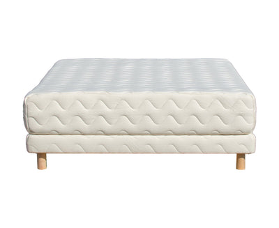 The Alto Organic Mattress on Low Profile Foundation