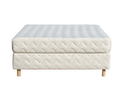 The Opus Organic Latex Mattress with Foundation