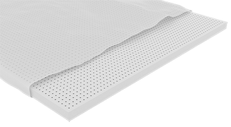 Organic Dunlop Latex Layer with Organic Cotton Cover