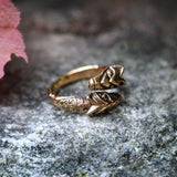Freki & Geri Ring, Bronze