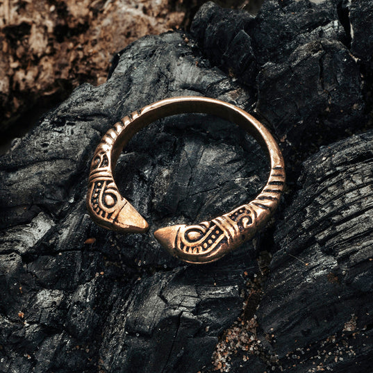Hugin & Munin Ring, Bronze