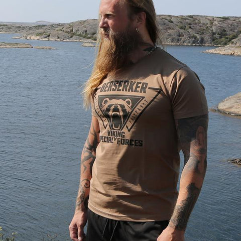 Premium Tee, Berserker, Coyote Brown